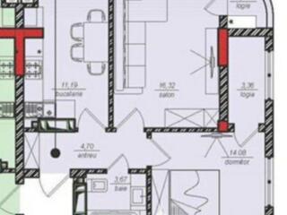 Spre vânzare apartament cu 2 camere, amplasat în sectorul Centru, ...