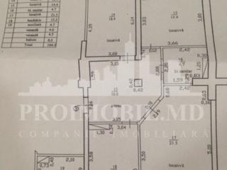 Propunem spre atenția dvs. apartament cu trei camere și suprafața de .