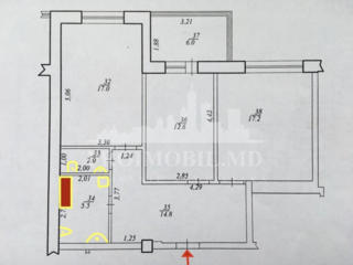 Vă prezentăm un apartament spațios în bloc nou cu curte de tip închis