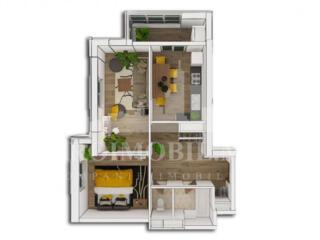 Compania ProImobil, vă propune spre VÂNZARE apartament în bloc nou,