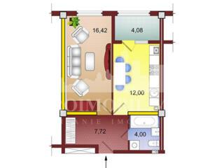 Spre vânzare apartament cu 1 cameră cu o suprafață utilă de 45 mp! ...