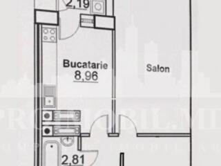 Spre vânzare apartament cu o CAMERĂ și suprafața de 47mp. Blocul ..
