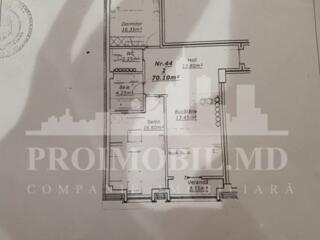 Apartament cu 2 camere separate, 70 mp, str. Lev Tolstoi! FIECARE ...