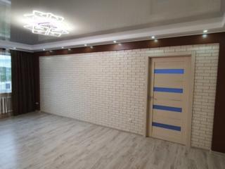 Vind apartament cu 3 odai cu reparatie euro etajul 9 din 16,88m, p