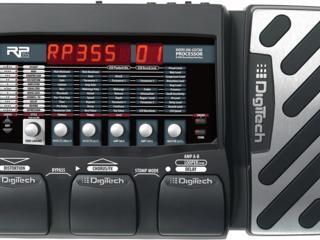 Гитарный процессор digitech rp355