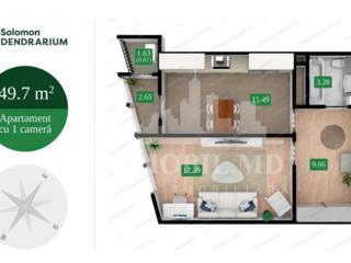 Vă propunem acest apartament cu 1camerăîn Complexul Solomon ...