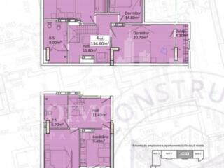 Vă propunem acest apartament cu 4camereîn Complexul Family City, ..