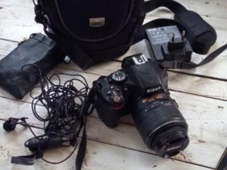 Продам Зеркальный фотоаппарат Nikon D5100 kit 18-55
