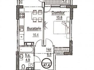 Spre vânzare apartament cu 1 cameră în Complexul locativ din str. ...