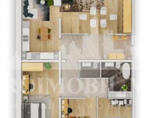 Spre VÂNZARE apartament spațios și luminos, ce se prezintă cu ...