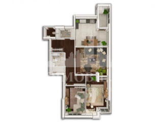 Apartament în varianta albă - alegerea perfectă pentru persoanele ce .