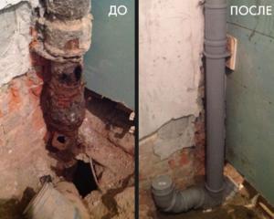 Замена стояков отопления водоснабжения канализации