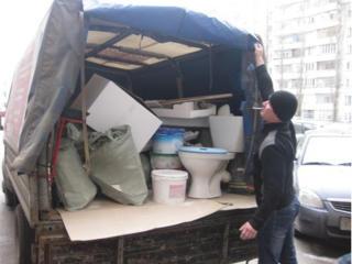 Вывоз хлама, мебели, техники, ванн, строительного мусора.