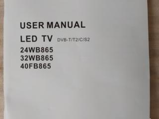 Продам телевизор LED TV BLAUPUNCT диагональ 82 см три тюнера.