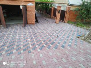 Укладка тротуарной плитки. Тротуарная плитка