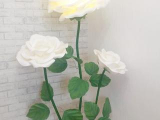 Свечи свадебные, подарочные. Ростовые цветы продажа, аренда.
