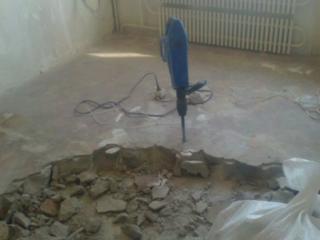 Ремонт полов демонтаж старых бетонных полов алмазное резка технологических