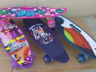 Скейтборды Penny с прорезом для руки новая модель-330 лей.