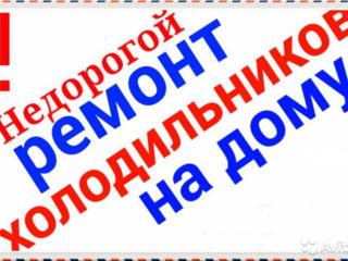 РЕМОНТ ХОЛОДИЛЬНИКОВ и СТИРАЛЬНЫХ м. на дому. Недорого. Выезд в районы