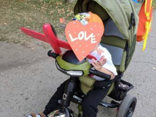 Трёхколесный велосипед Crosser One для детей от 1 до 4-5 лет