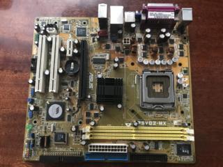 Asus P5VD2-MX Socket 775 проблемная