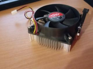 Кулер процессора с радиатором на AM2-AM3 соккет