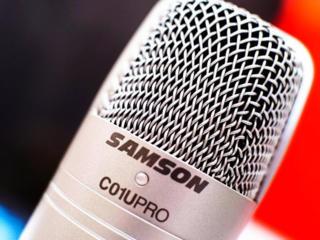 """Микрофон студийный кондер. SAMSON C01U PRO в м. м. """"РИТМ"""""""