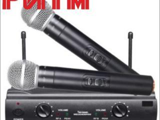 """Радиомикрофоны SHURE SM58/UT42 (реплика) в м. м. """"РИТМ"""""""