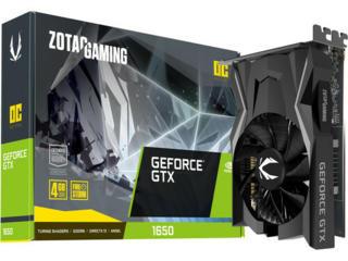 ZOTAC GeForce GTX 1650 D6 OC 4GB GDDR6 128bit ZT-T16520F-10L