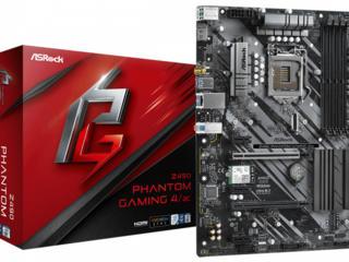 ASRock Z490 PHANTOM GAMING 4/AC ATX S1200 Dual Channel DDR4 4400+