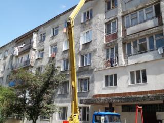 Подьем стройматериалов на высотные здания.