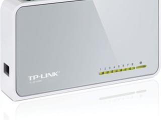 Hовый TP-LINK 8port - 150 lei