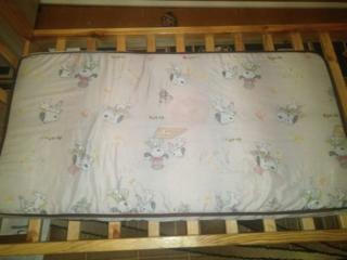 Матрасик детский в кроватку 150р