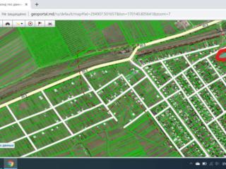 Продается участок под постройку 19 соток село Елизавета мун. Бельцы.