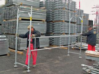 Профессиональные строительные леса - от 50 до 1000 кв м, Читаю Viber