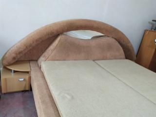 ТОЛЬКО СЕГОДНЯ-215уе!!! Красивая кровать с зеркальным изголовьем
