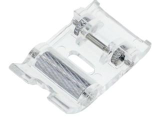 Лапки для бытовых швейных машин, стеклярус чёрный, тесьма зигзаг