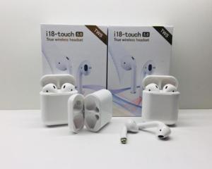 Беспроводные Bluetooth (блютуз) наушники I18 - Touch TWS