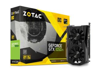 Б/у Inno3d GTX 1050 COMPACT и Zotac GTX 1050 Ti OC EDITION