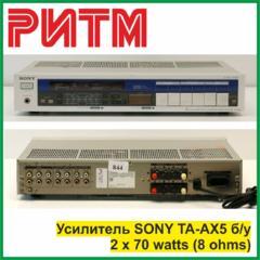 """Усилитель SONY TA-AX5 б/у в м. м. """"РИТМ"""""""