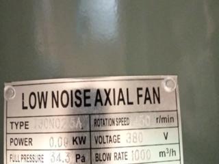 Вентилятор low noise axial fan
