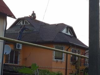 Montarea acoperisului: