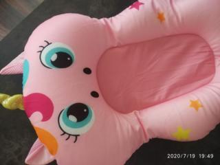 Продам новый матрасик для купания новорожденных и ванночку
