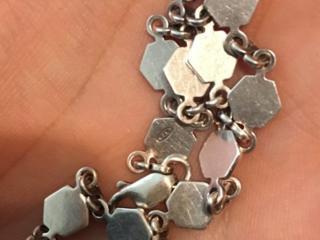 Продам женский серебряный браслет