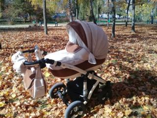 """Carucior """"iarnà-varà"""" 2-in-1 Adamex GALACTIC cadou scăunel auto"""