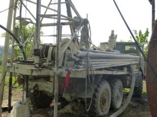Буровая установка УРБ-2.5, для бурения глубоких артезианских скважин.