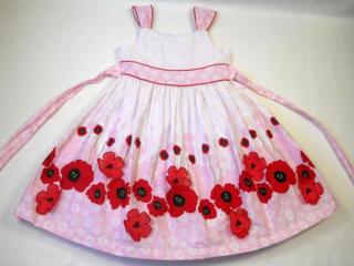 Фирменное платье bonnie jean нарядное красивое на 5-6 лет