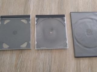 Коробка BOX DVD-CD-Slim пластмассовая