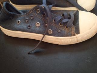 Джинсовая обувь