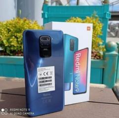 Новый Сяоми Redmi note 9 4/128ГБ, синий цвет, VoLTE 4G
